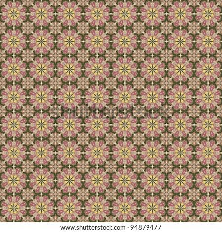 Flower Mandala Iphone Wallpaper Seamless Floral Kaleidoscope