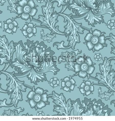 Wallpaper Pattern Floral