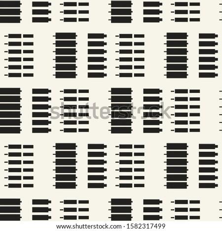 Seamless geometric pattern. Geometric simple print.