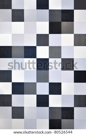 Seamless geometric wallpaper background (blue tone)
