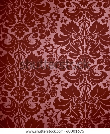 Damask Wallpaper on Stock Photo Seamless Gothic Damask Wallpaper Background 60001675 Jpg