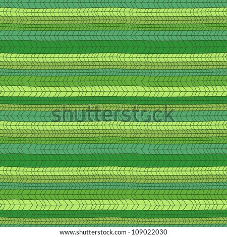 Seamless green knitted texture