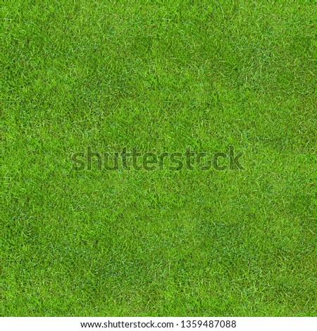 Seamless Green Lush Grass Texture. Fresh Backdrop.