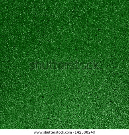 Seamless green texture with plastic effect. Empty surface background