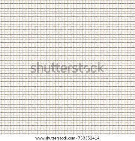 Seamless grid paper. Grid paper basic squares #753352414