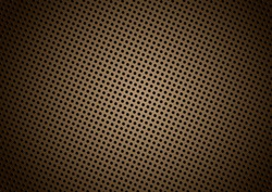 Seamless halftone dot pattern background with brown
