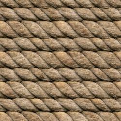 Seamless Hemp Rope Texture Pattern