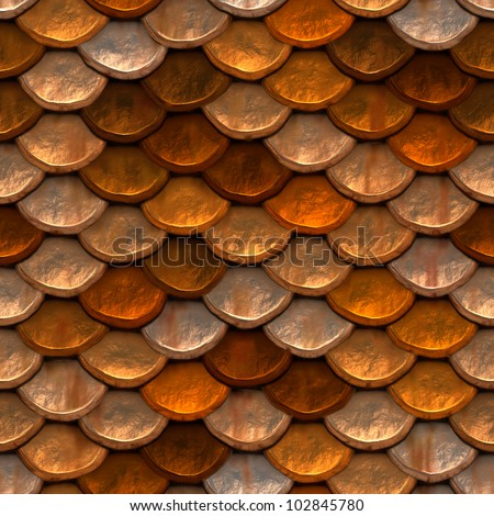 Seamless high quality high resolution rusted body armor #102845780