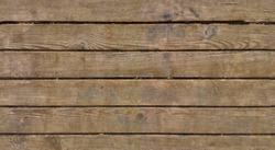 Seamless horizontal texture of wooden planks in HDR mode for game design