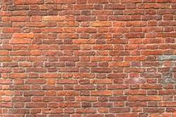 Seamless interior texture old brick wall.