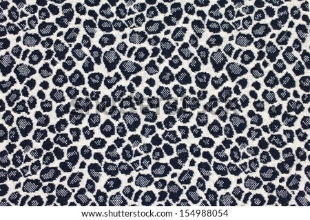 Seamless Leopard Pattern Background