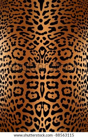 Seamless leopard pattern skin