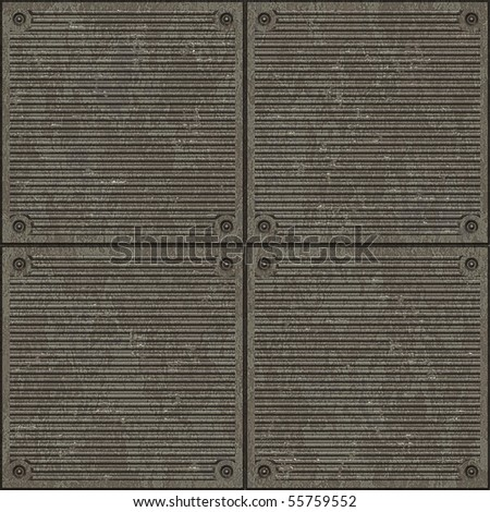 Seamless lines plate pavement texture