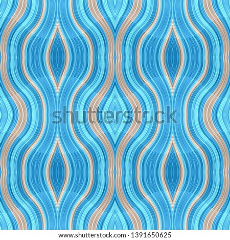 seamless modern antique medium turquoise, pastel gray and gray gray color background. can be used for fabric, texture, decorative or wallpaper design.