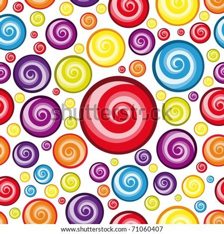 Seamless Multicolor  Wallpaper.