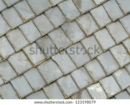 seamless old gray roof slates texture background