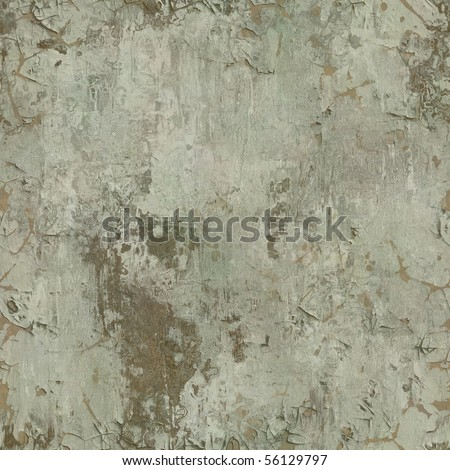 seamless old paint peeling from wall texture background