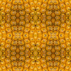 Seamless pattern made from colorful peel pineapple. background texture