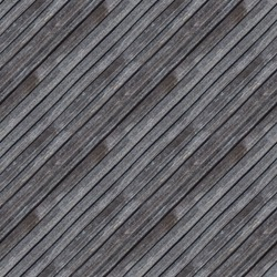 Seamless pattern of old grey wooden plank wall or pavement for design and matte painting