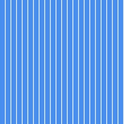 Seamless pattern of thin white stripes on a blue background. Repeating striped background.
