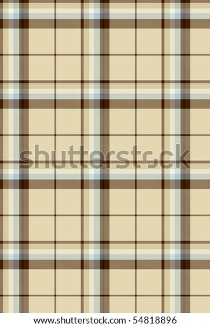 Seamless pattern tartan textile - stock photo