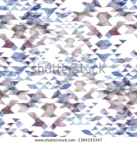 6f3c6e6c Seamless pattern tie-dye design. Indigo background with watercolor effect. Textile  shibori print