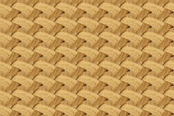 seamless pattern with abaca rope by the Philippine