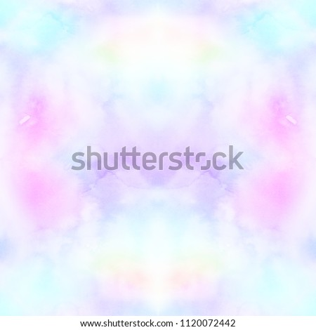 c9865f39 Seamless pattern with Boho tie-dye watercolor paper textured background.  Hippie style. Textile