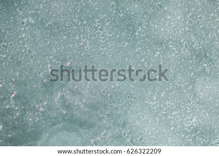 Seamless photo of the bubbles in sparkling waters, texture. #626322209