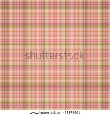 Seamless Pink Plaid Background