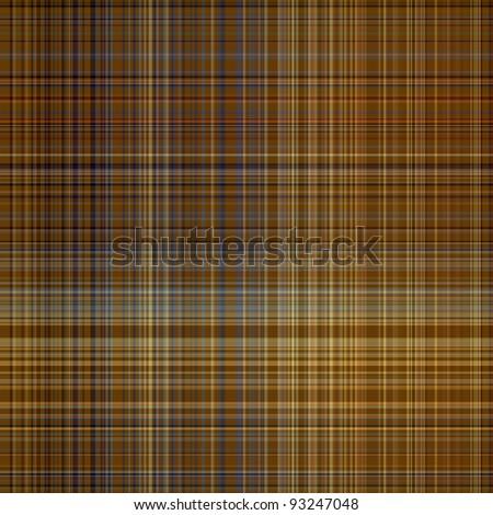 Seamless plaid fabric pattern