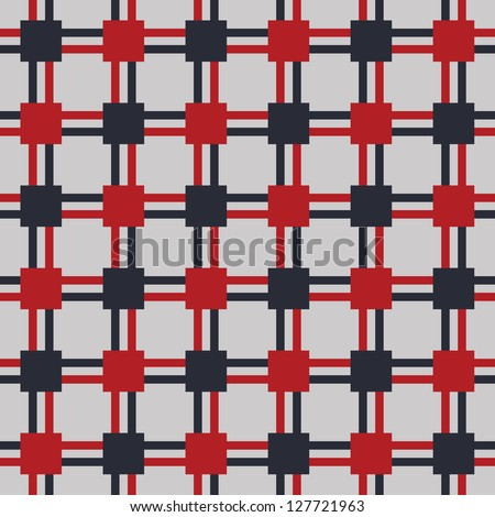 Seamless raster color geometric pattern background