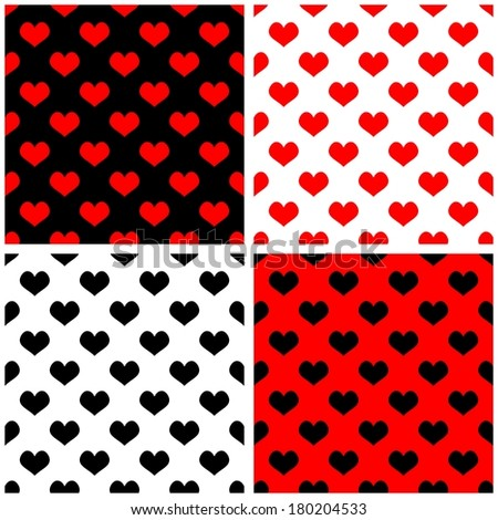 Red Black White Pattern Babies Red Black And White Patterns