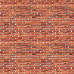 Seamless Red Brick Texture