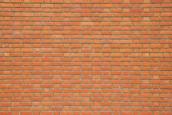 Seamless Red Brick Wall - Background Texture with Plenty of Copy Space