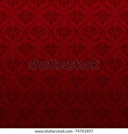seamless red wallpaper pattern  ...
