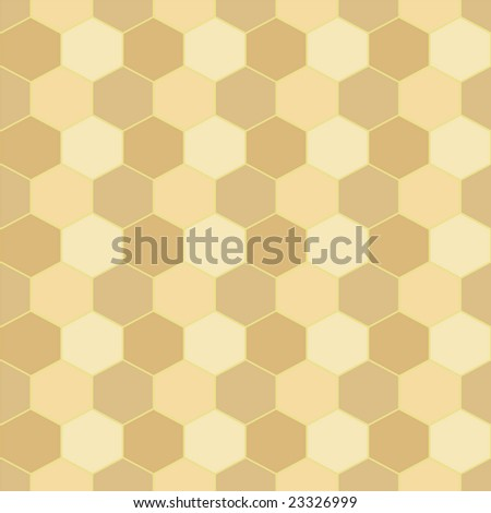 Seamless repeating background in a honeycomb style ideal as a desktop