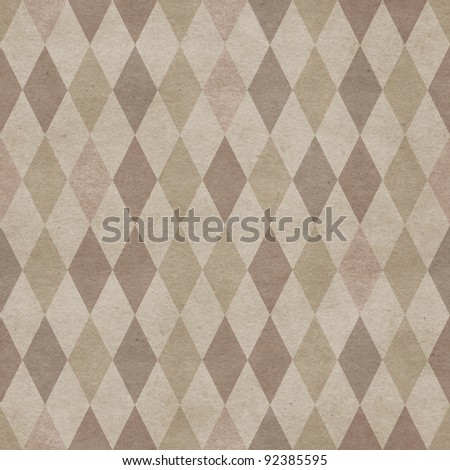 Seamless retro harlequin background #92385595