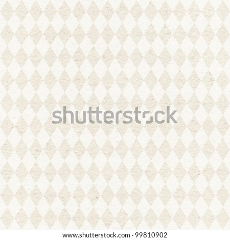 Seamless retro harlequin background. Geometric pattern on grungy paper texture