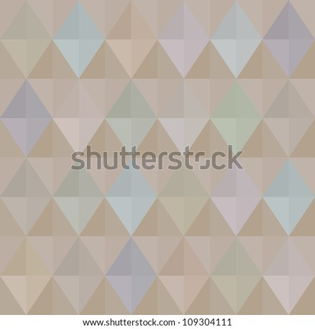 Seamless retro harlequin background in pastel colors