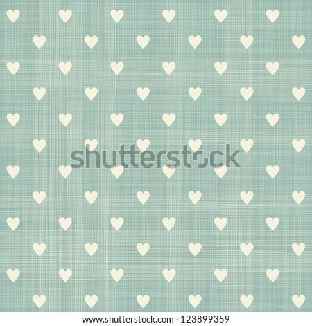 seamless retro polka dot pattern