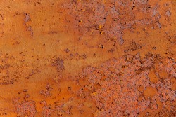 Seamless rust texture . Strong metal corrosion used as background for banner and text