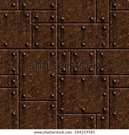 Plate Armor Texture Seamless Rusty Armor Texture