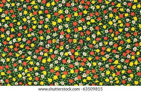 Seamless small flower background