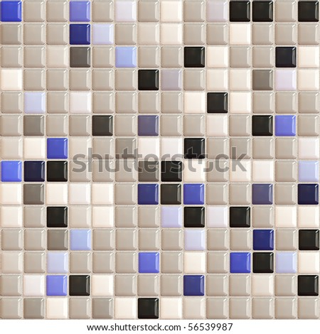 Bathroom White Tiles Texture Seamless Seamless Small Tiles Texture