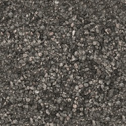 Seamless square texture of small pebbles in HDR mode for game design