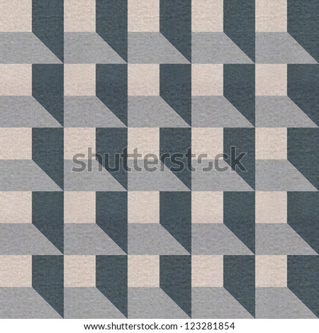 Seamless square textured pattern