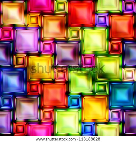 Seamless Texture abstract geometric shapes
