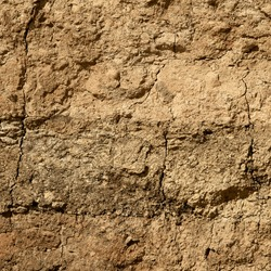 Seamless texture - clay soil in the context of