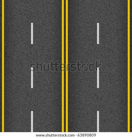 seamless texture highway